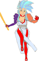 Ryoko Sketch with Color by Clovis15