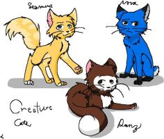 creature cats by deathnoteL2009