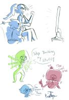 Some Undertale and Steven Doodles by Friendlyfoxpal