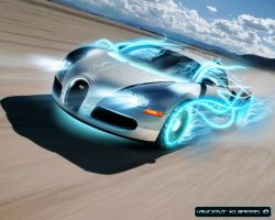 Bugatti Veyron Wallpaper by Xenithor