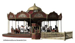 Stock:  Carousel PNG by ArtReferenceSource