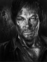 Daryl Dixon - The Walking Dead by R-becca