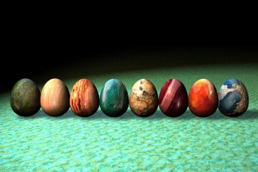 Gemstone Eggs by crag-dolomite