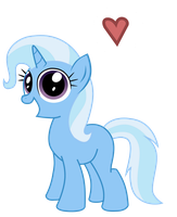 AT: Filly Trixie by WillowTails
