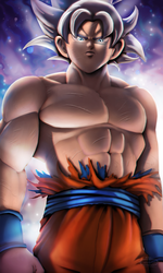 Goku Ultrainstinct by CaptainCeja