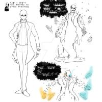 Gaster Sketches by PsychoticUndertone