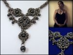 Nyx - Byzantine chainmaille necklace by MermaidsTreasury