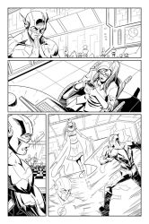 The Flash: page 5 by Shono