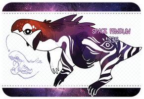 [ADPT] Single Monster: Space Penguin - CLOSED by KngCorvidae