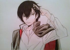 Hibari Kyoya. by ADFlowright