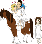 Proud Gypsy Prince and His wives by Adela555
