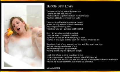 Bubble Bath Lovin' by VisualPoetress