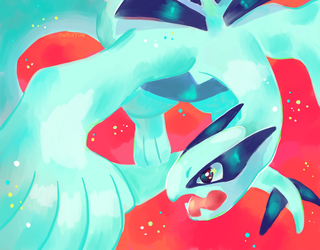 Lugia by owlburrow