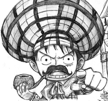 Sherlock D. Luffy by VGLR