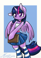 My little pony - Anthro Twilight by MimicProductions