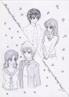 Jessica, Mike, Ben, Angela by Lacus-Clyne
