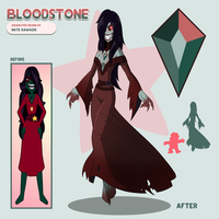 Bloodstone Doll Divine Redraw by TheGraffitiSoul