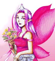 Fyora with flowers by Narumo