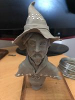 Discworld - Rincewind - Bust (WIP) by CultureSculpts