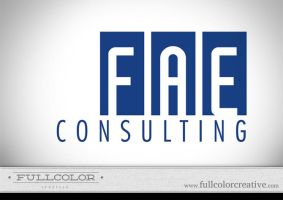 FAE Consulting Logo by FullcolorCreative