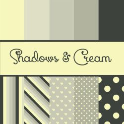 Free Shadows and Cream Papers by TeacherYanie