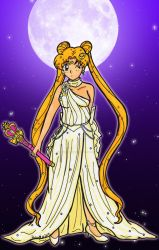 FB Comm: Moon Goddess by Magical-Mama
