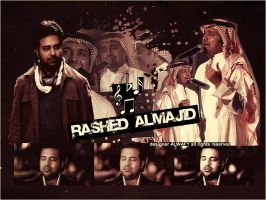 Collage For Rashed Almajid II by alwafy