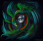 Quetzalcoatl by sleepyotter