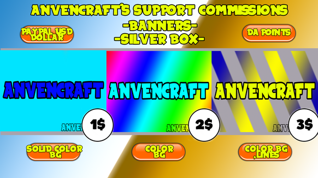 AnVenCraft's Support Commissions - Silver Box - by AnVenCraft
