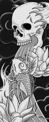 Japanese Vent Piece - WIP by Heavy-metal-ink