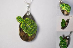 Turtle Necklace: Charmy by IllusionTree