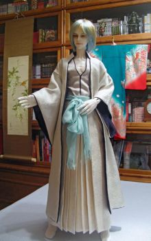 BJD, Gin's Arrancar costme by InarisansCrafts