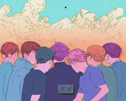 BANGTAN FANART by BT2k3