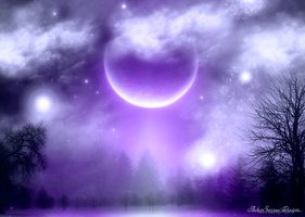 Violet Visions by silentfuneral