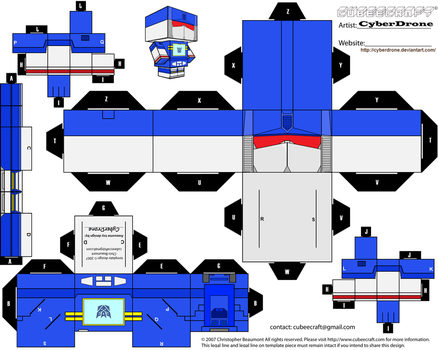 Cubee - Soundwave 'G1' by CyberDrone