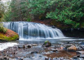 Lower Henderson Falls Part 2a by Brian-B-Photography
