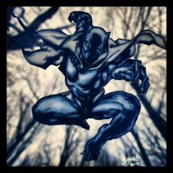 the black panther by Birdfish420