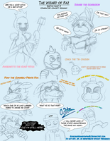 FNAF-Wizard of Faz Sketch dump 2 by SonicandShadowfan15