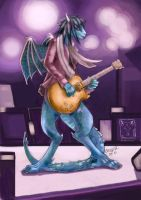 Dragon guitar solo by dragonladych