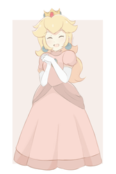 Princess Peach- Light Palette (Full Body Color) by chocomiru02