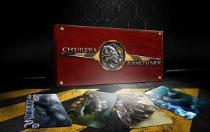 Chimera Sanctuary Box and Cards by guillaume-phoenix