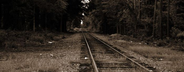Looking down the tracks 2 by lowjacker