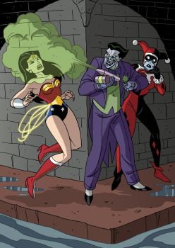 Justice League vs. Joker + Harley Quinn - 07 by TimLevins