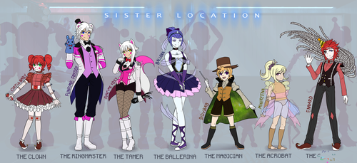 Sister Location Concept by Wolf-con-f
