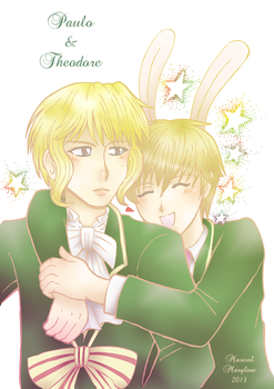 Paulo and Theodore by Marisol-Maryline