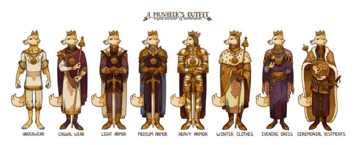 King A. Musheck's outfit by morteraphan