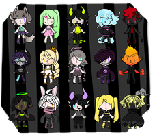 15 Adopts [4/15 OPEN] by BakaGee