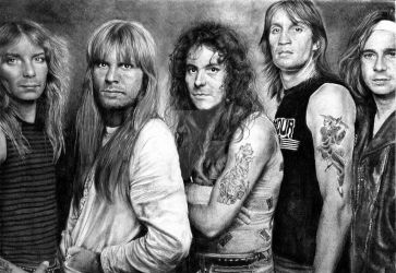 Iron Maiden (update) by Joan95