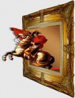 Napoleon Out of bounds Frame PSD by wsaconato