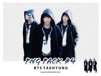 PNG PACK #4 ( BTS TAEHYUNG ) by tzuyoda